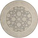 Nourison Nourison 2000 6' x 6' Slate Round Rug - Item Number: 2204 SLT 6X6