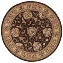 Nourison Nourison 2000 4' x 4' Brown Round Rug