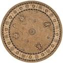 Nourison Nourison 2000 8' x 8' Camel Round Rug - Item Number: 2206 CAM 8X8