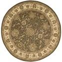 Nourison Nourison 2000 8' x 8' Slate Round Rug - Item Number: 2206 SLT 8X8