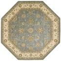 Nourison Nourison 2000 10' x 10' Blue Octagon Rug - Item Number: 2210 BL 10X10
