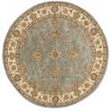 Nourison Nourison 2000 4' x 4' Blue Round Rug - Item Number: 2210 BL 4X4