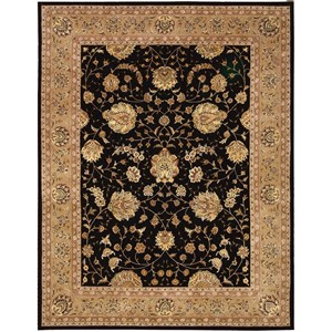 "Nourison Nourison 2000 9'9"" x 13'9"" Black Rectangle Rug"