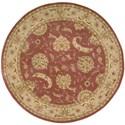 Nourison Nourison 2000 4' x 4' Rose Round Rug - Item Number: 2215 ROS 4X4