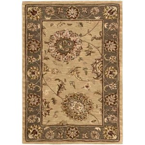 Nourison Nourison 2000 2' x 3' Beige Rectangle Rug