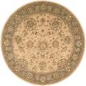 Nourison Nourison 2000 6' x 6' Beige Round Rug - Item Number: 2258 BGE 6X6