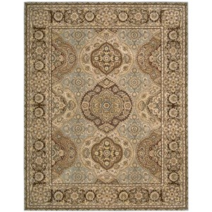 "Nourison Nourison 2000 9'9"" x 13'9"" Multicolor Rectangle Rug"