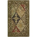 "Nourison Nourison 2000 2'6"" x 4'3"" Multicolor Rectangle Rug - Item Number: 2292 MTC 26X43"