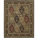 "Nourison Nourison 2000 8'6"" x 11'6"" Multicolor Rectangle Rug - Item Number: 2292 MTC 86X116"