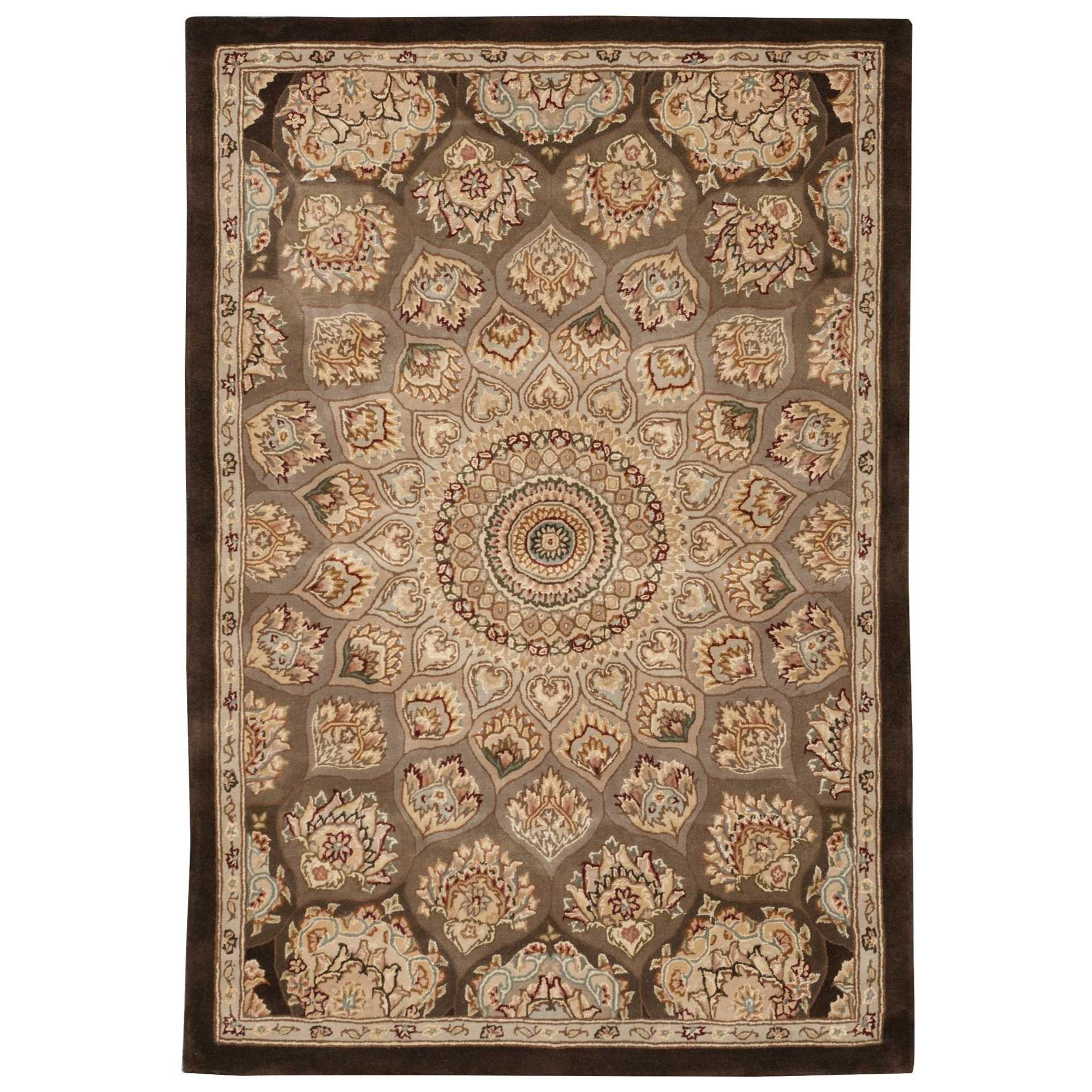 Nourison Nourison 2000 2' x 3' Brown Rectangle Rug - Item Number: 2318 BRN 2X3