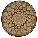 Nourison Nourison 2000 6' x 6' Slate Round Rug - Item Number: 2318 SLT 6X6