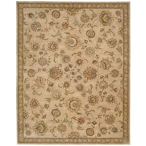 "Nourison Nourison 2000 8'6"" x 11'6"" Beige Rectangle Rug"