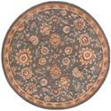 Nourison Nourison 2000 4' x 4' Slate Round Rug - Item Number: 2360 SLT 4X4