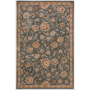 "Nourison Nourison 2000 5'6"" x 8'6"" Slate Rectangle Rug"