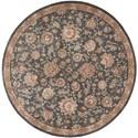 Nourison Nourison 2000 8' x 8' Slate Round Rug - Item Number: 2360 SLT 8X8