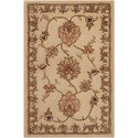 Nourison Nourison 2000 2' x 3' Beige Rectangle Rug - Item Number: 2421 BGE 2X3