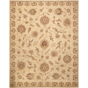 "Nourison Nourison 2000 3'9"" x 5'9"" Beige Rectangle Rug"