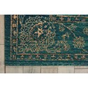 Nourison Nourison 2020 12' X 15' Teal Rectangle Rug