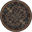 Nourison Nourison 2020 5' X 5' Night Fall Rug - Item Number: NR204 NFALL 5X5