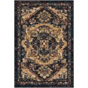 Nourison Nourison 2020 2' X 3' Midnight Rug - Item Number: NR206 MIDNT 2X3