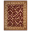 """Nourison Nourison 3000 9'9"""" x 13'9"""" Red Rectangle Rug - Item Number: 3102 RED 99X139"""