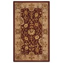 "Nourison Nourison 3000 3'9"" x 5'9"" Rust Rectangle Rug - Item Number: 3102 RUS 39X59"