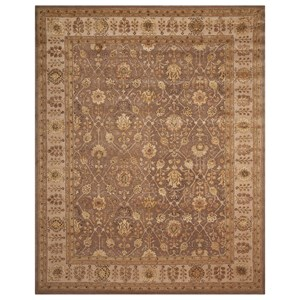 "Nourison Nourison 3000 9'9"" x 13'9"" Taupe Rectangle Rug"