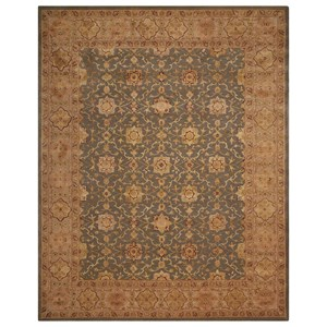 "Nourison Nourison 3000 8'6"" x 11'6"" Aqua Rectangle Rug"