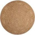 Nourison Nourison 3000 6' x 6' Beige Round Rug - Item Number: 3103 BGE 6X6