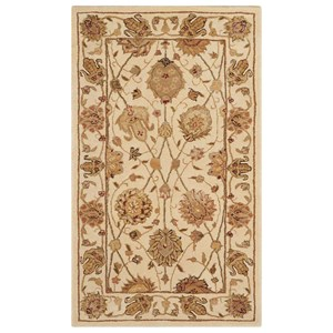 "Nourison Nourison 3000 2'6"" x 4'2"" Ivory Rectangle Rug"