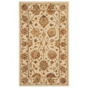 "Nourison Nourison 3000 3'9"" x 5'9"" Ivory Rectangle Rug - Item Number: 3105 IV 39X59"