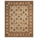 "Nourison Nourison 3000 8'6"" x 11'6"" Ivory Rectangle Rug - Item Number: 3105 IV 86X116"