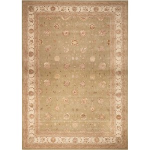 "Nourison Nourison 3000 2'6"" x 4'2"" Light Green Rectangle Rug"