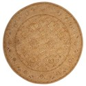 Nourison Nourison 3000 8' x 8' Beige Round Rug - Item Number: 3108 BGE 8X8