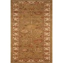 "Nourison Nourison 3000 2'3"" x 8' Light Green Area Rug - Item Number: 19416"