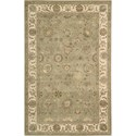 "Nourison Nourison 3000 3'9"" x 5'9"" Light Green Area Rug - Item Number: 19722"
