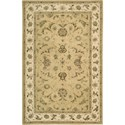 "Nourison Nourison 3000 5'6"" x 8'6"" Yellow Area Rug - Item Number: 19848"