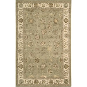 "Nourison Nourison 3000 5'6"" x 8'6"" Light Green Area Rug"