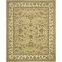 "Nourison Nourison 3000 7'9"" x 9'9"" Yellow Area Rug - Item Number: 20334"