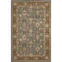 "Nourison Nourison 3000 8'6"" x 11'6"" Light Blue Area Rug - Item Number: 20424"
