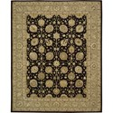 "Nourison Nourison 3000 8'6"" x 11'6"" Black Area Rug - Item Number: 20505"
