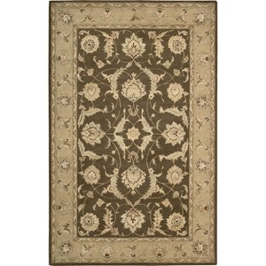 "Nourison Nourison 3000 9'9"" x 13'9"" Brown Area Rug"