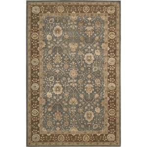 "Nourison Nourison 3000 9'9"" x 13'9"" Light Blue Area Rug"