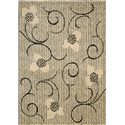 "Nourison Expressions Area Rug 3'6"" x 5'6"" - Item Number: 57910"