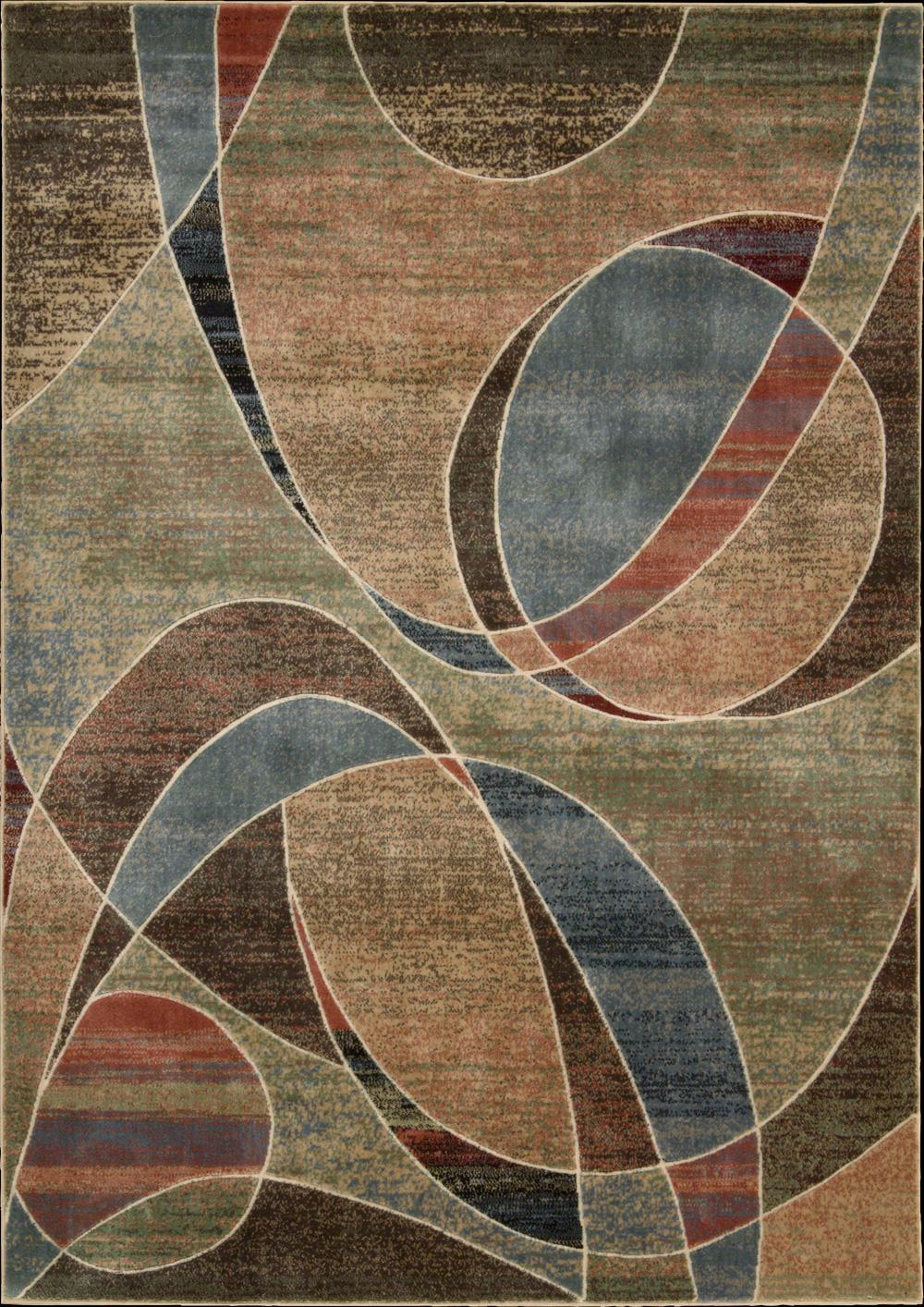 "Nourison Expressions Area Rug 7'9"" x 10'10"" - Item Number: 58117"