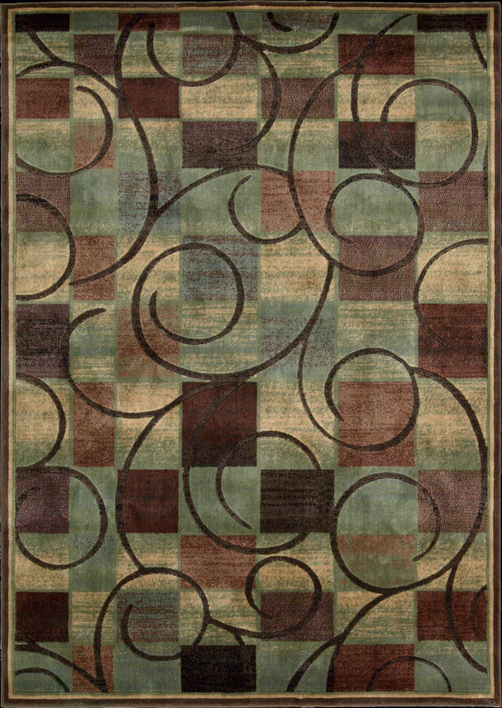 "Nourison Expressions Area Rug 5'3"" x 7'5"" - Item Number: 58468"