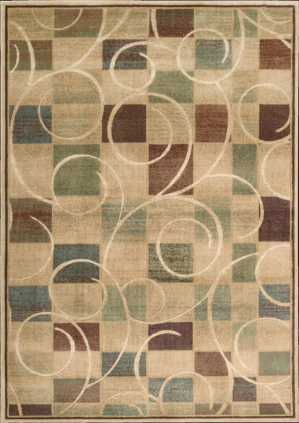 "Nourison Expressions Area Rug 5'3"" x 7'5"" - Item Number: 58486"