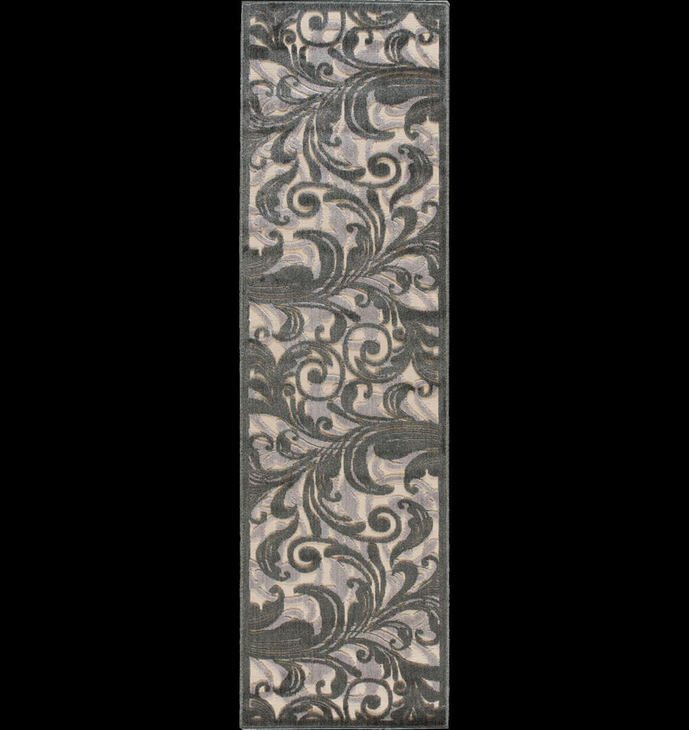 "Nourison Graphic Illusions Area Rug 2'3"" x 8' - Item Number: 11762"