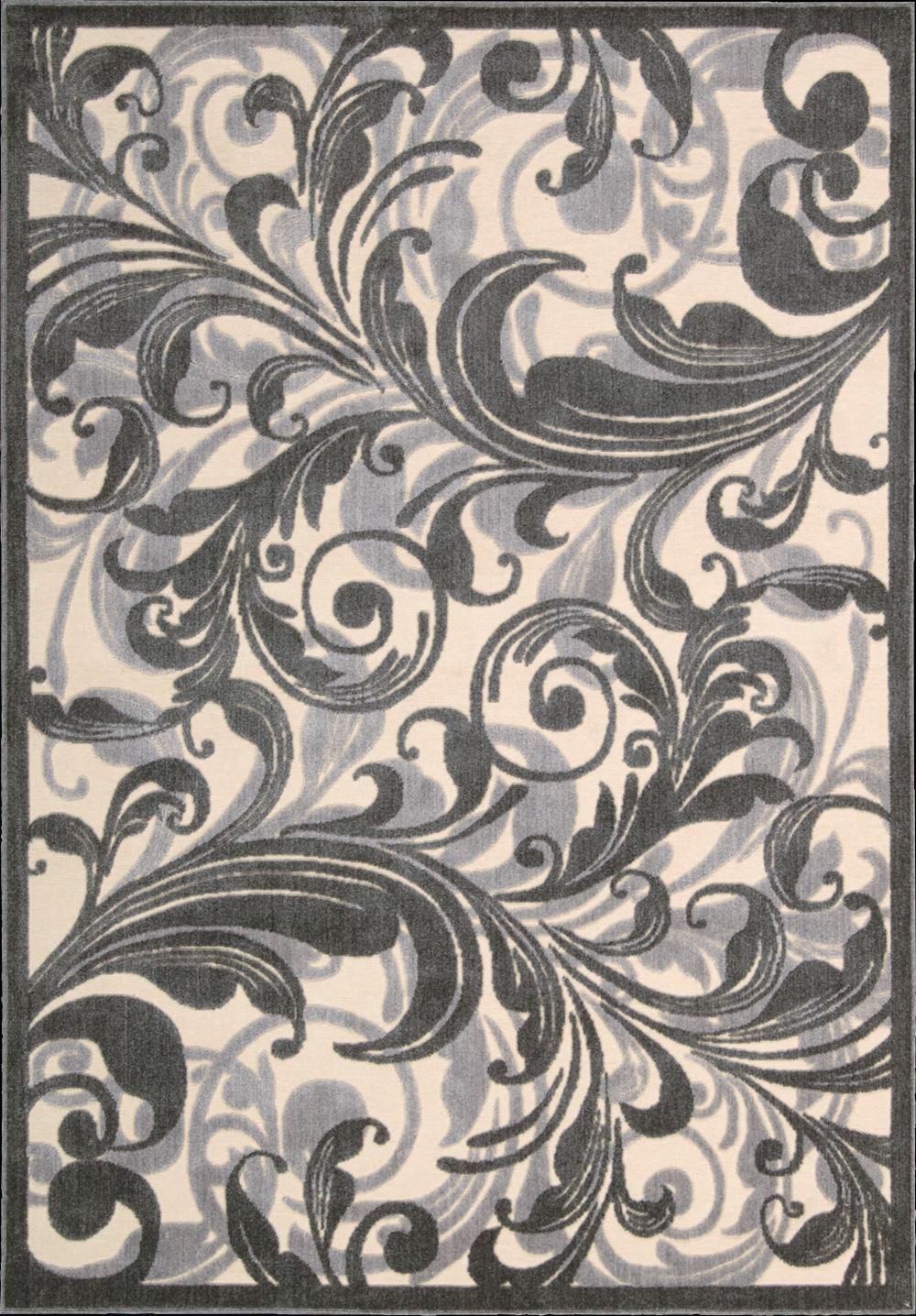 """Nourison Graphic Illusions Area Rug 5'3"""" x 7'5"""" - Item Number: 11765"""