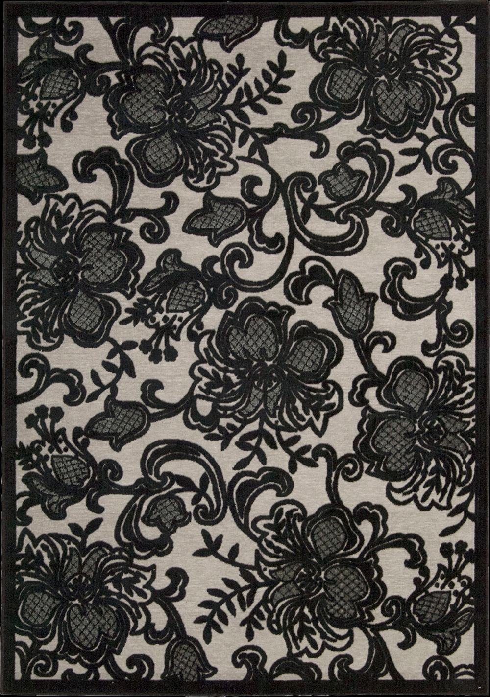 "Nourison Graphic Illusions Area Rug 5'3"" x 7'5"" - Item Number: 11783"